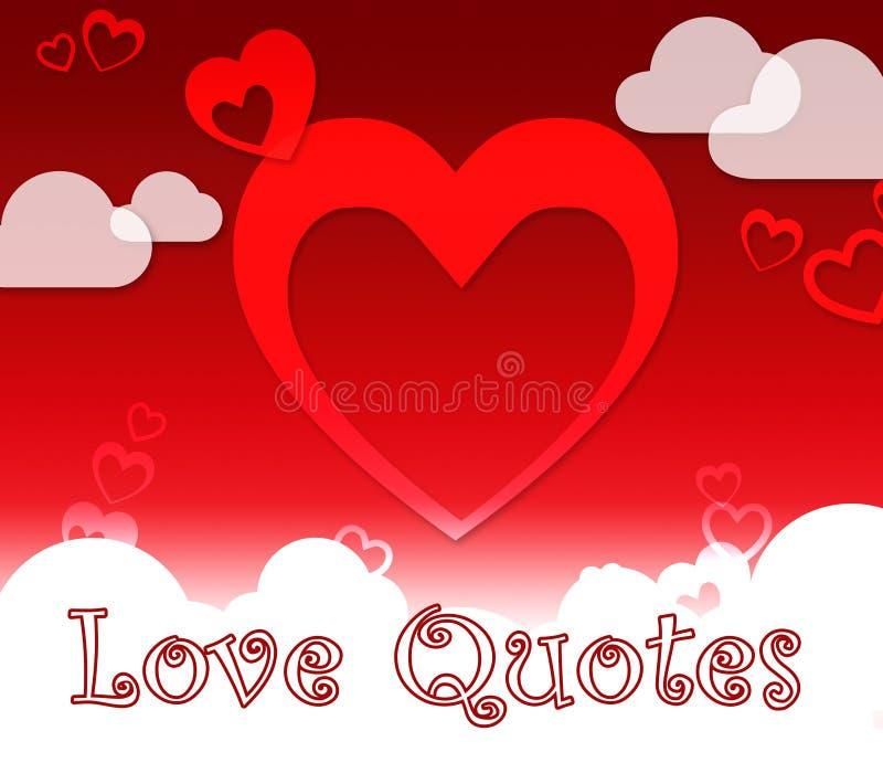 爱行情展示提取启发或崇拜 向量例证