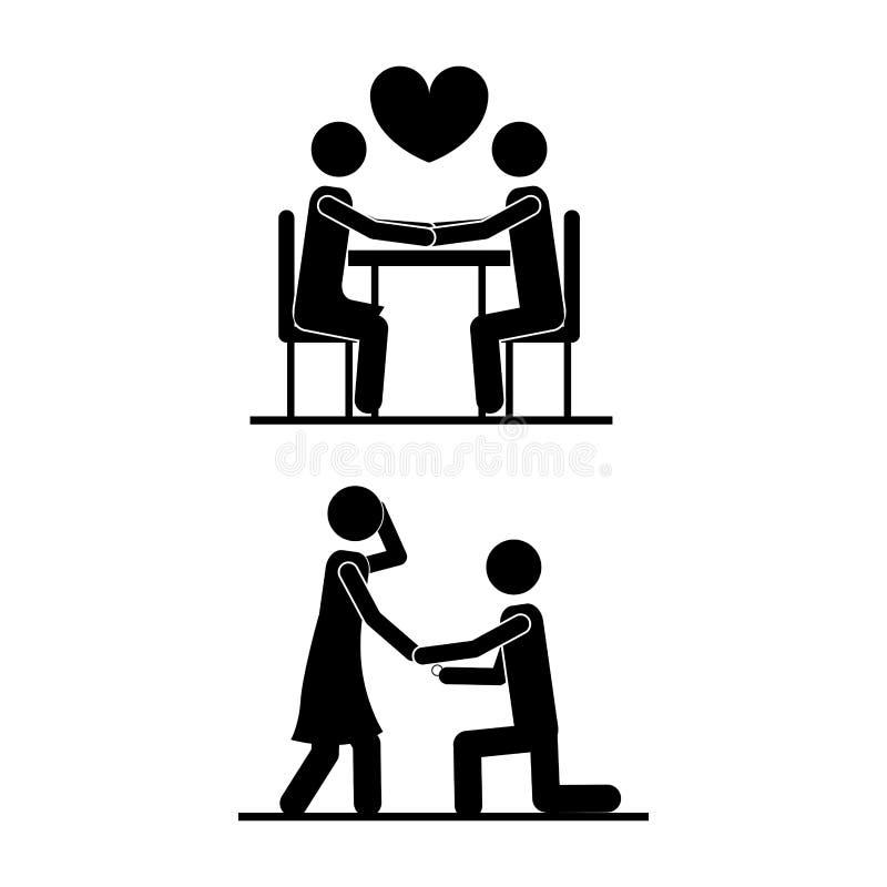 爱设计 皇族释放例证