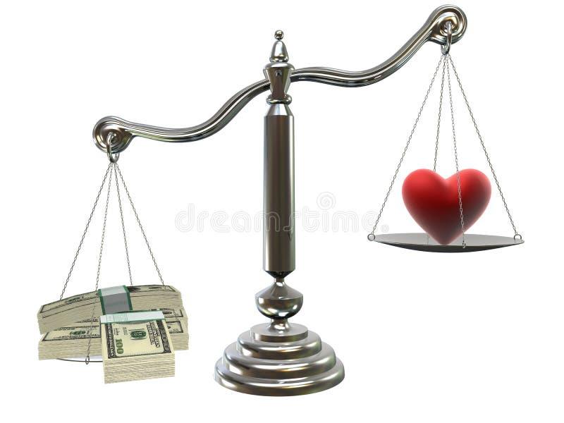 爱货币 皇族释放例证