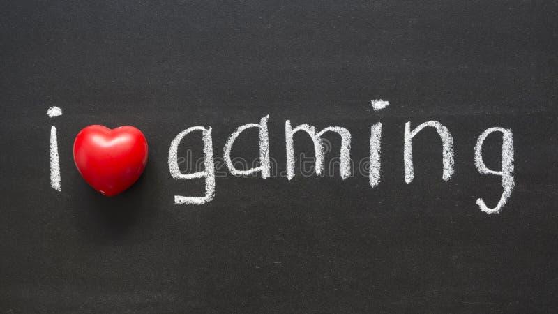 爱赌博 免版税图库摄影