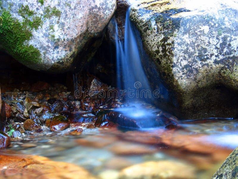 爱达荷小的美国瀑布 库存照片