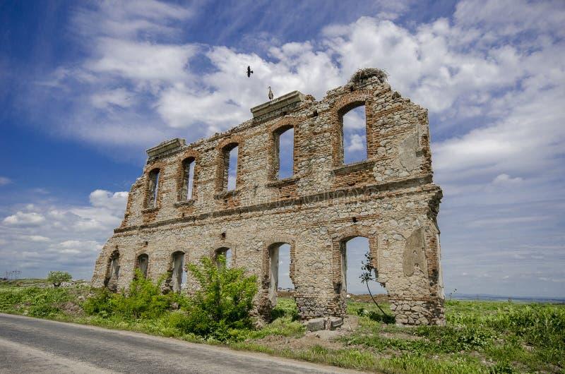 爱迪尔内历史的墙壁 免版税库存照片