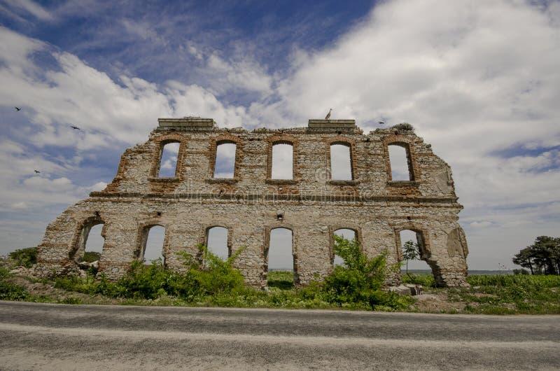 爱迪尔内历史的墙壁 库存照片