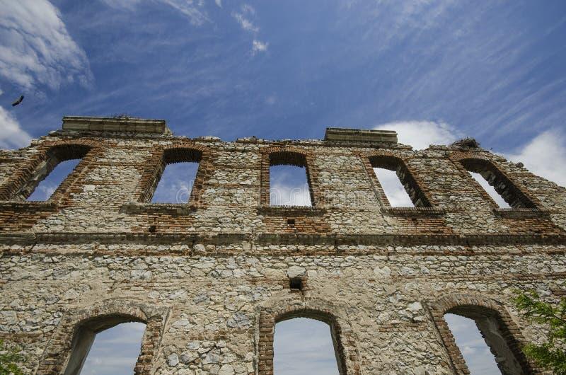 爱迪尔内历史的墙壁 库存图片