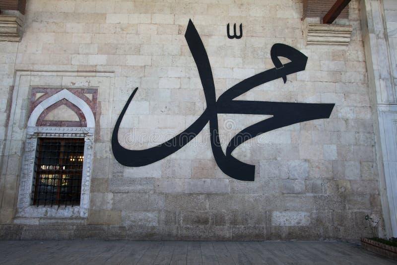 爱迪尔内老清真寺Eski Camii 库存照片