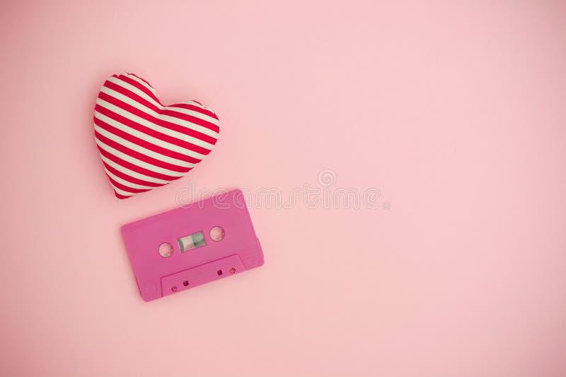爱音乐概念 红色上升了 免版税库存照片