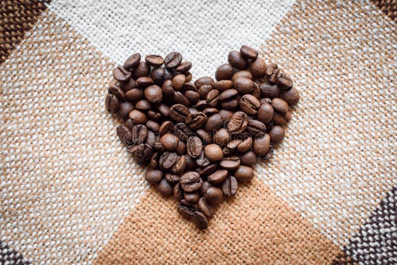 爱,咖啡恋人,做用概念 免版税图库摄影