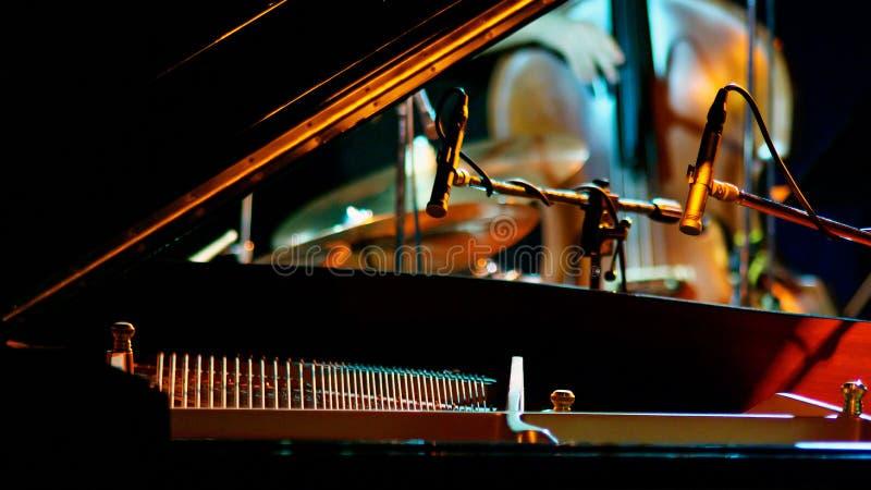 爵士乐时间 免版税图库摄影