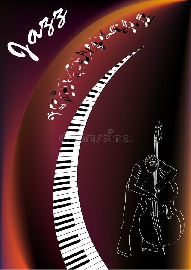 爵士乐音乐家 免版税库存照片