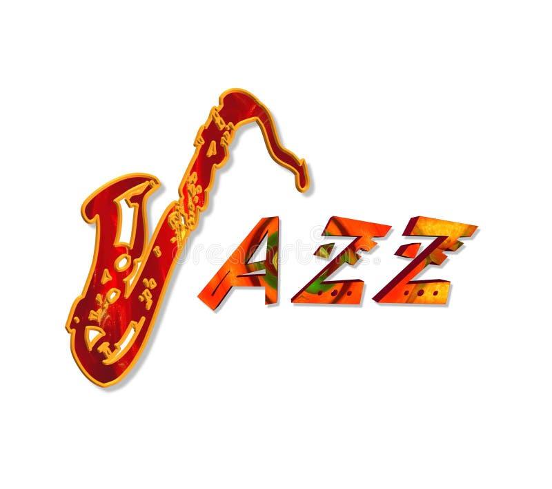 爵士乐 向量例证