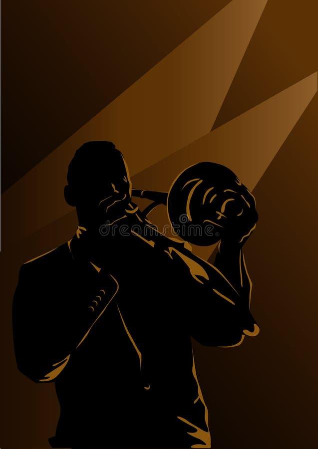 爵士乐 皇族释放例证