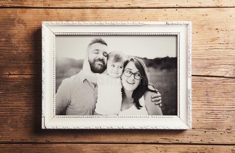 父亲节构成 库存照片