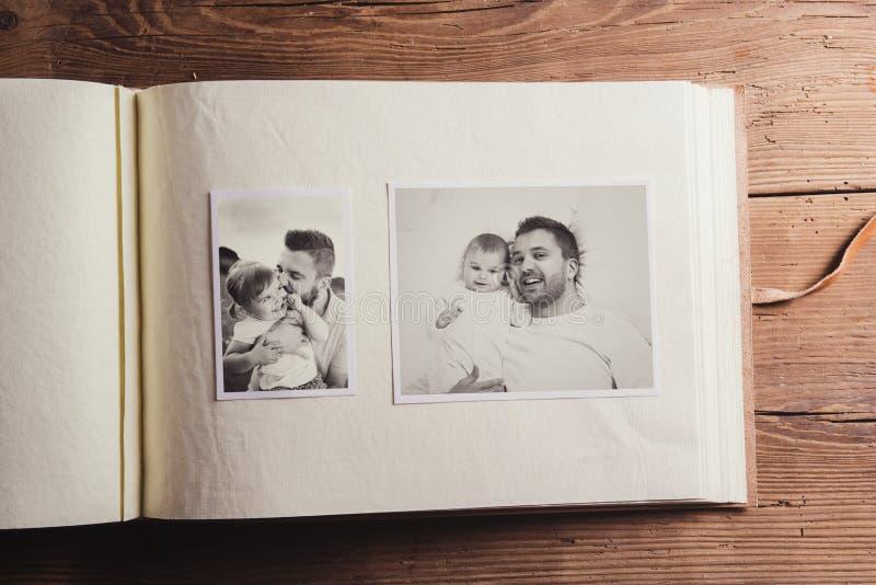 父亲节构成 免版税库存图片
