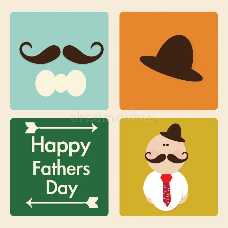 Download 父亲节象和卡片 向量例证. 插画 包括有 逗人喜爱, 统一性, 子项, 男朋友, 成人, 乐趣, 外面, 债券 - 30331674
