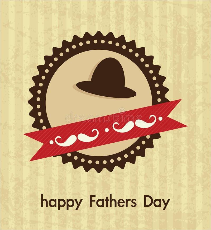 Download 父亲节象和卡片 向量例证. 插画 包括有 做父母的, 查出, 幸福, 子项, 父亲, beautifuler - 30331779