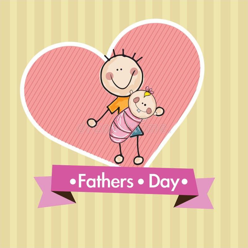 Download 父亲节象和卡片 向量例证. 插画 包括有 愉快, 外面, 债券, 敬慕, 快乐, 喜悦, 父亲, 乐趣, 子项 - 30331865