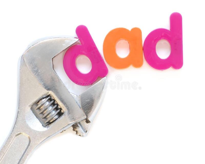 爸爸 免版税库存照片