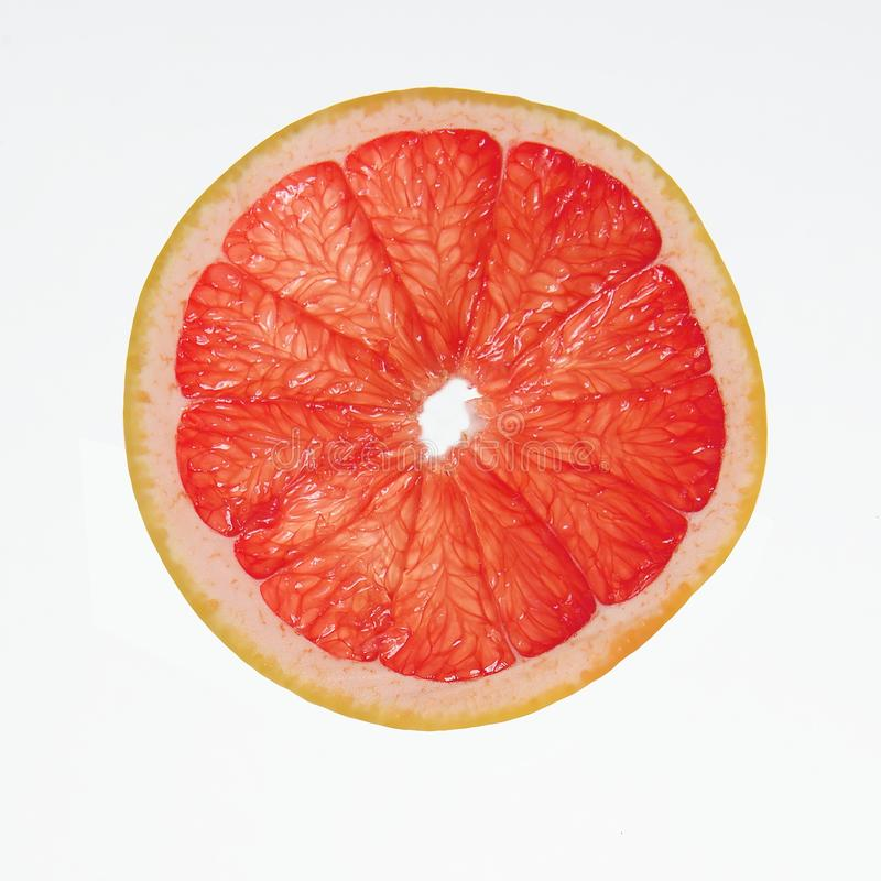 片式葡萄柚 免版税库存照片