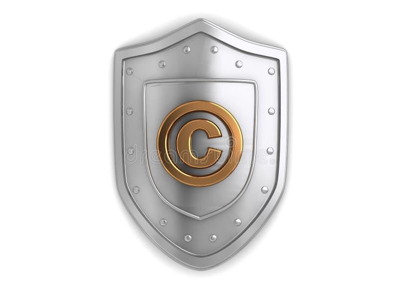 版权保护 向量例证