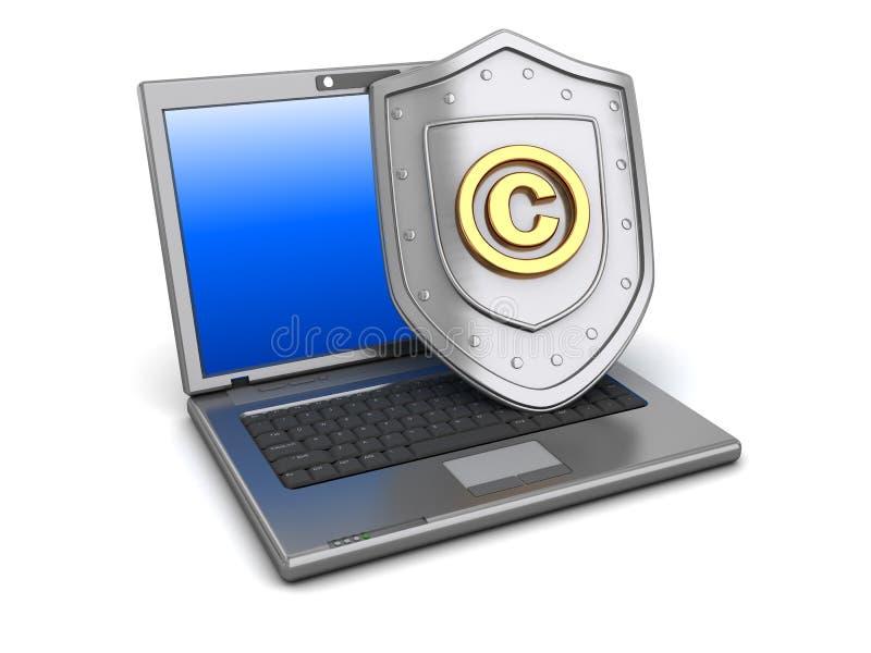 版权保护 皇族释放例证