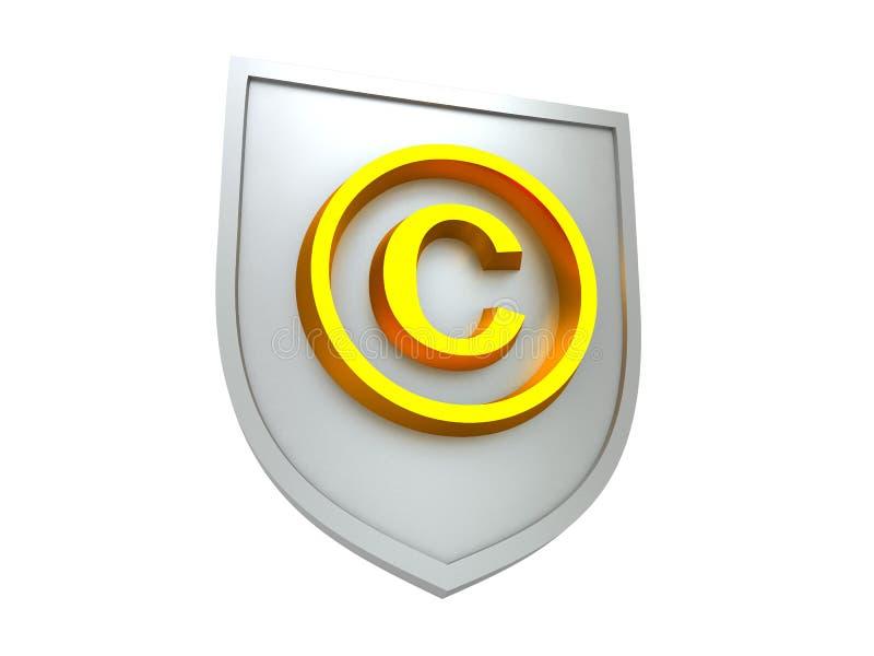 版权保护 库存例证