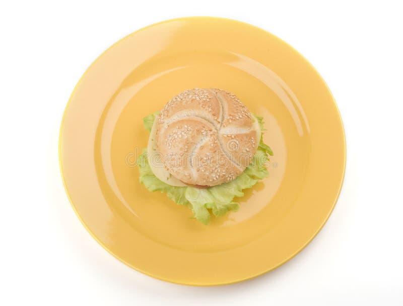 牌照三明治 免版税图库摄影