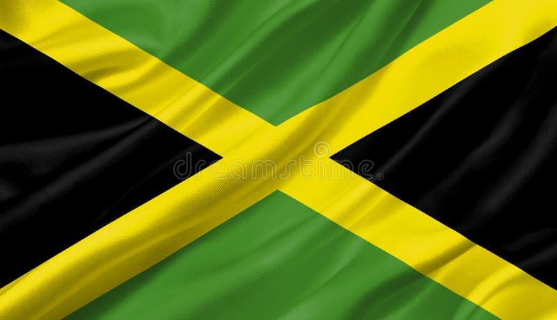 牙买加沙文主义情绪与风, 3D例证 皇族释放例证