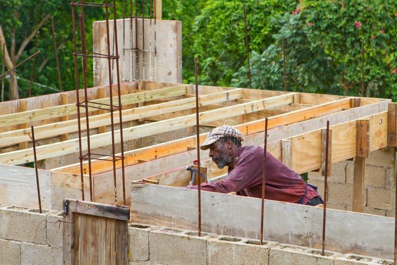 牙买加的木匠 库存图片