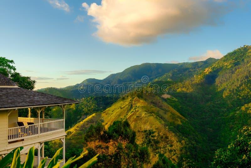 牙买加这家2的蓝山山脉 库存照片