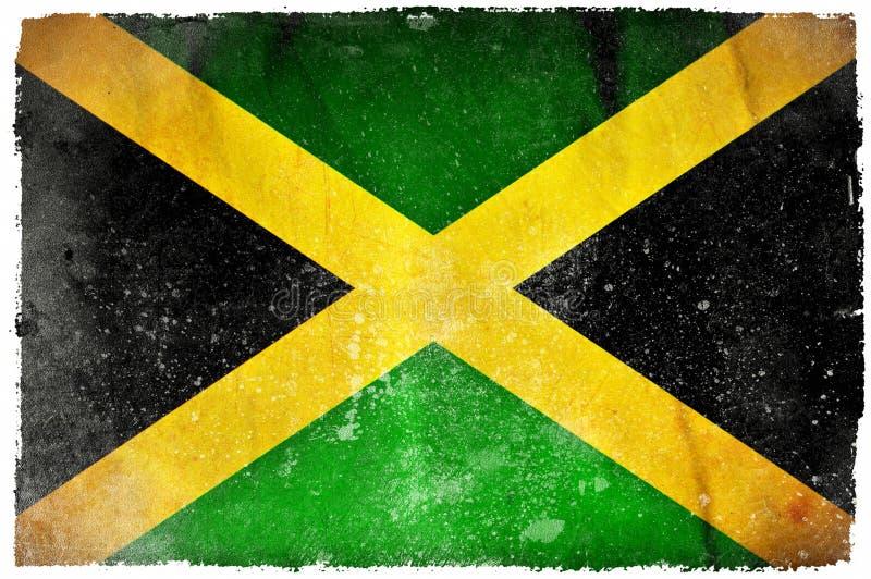 牙买加难看的东西旗子 向量例证