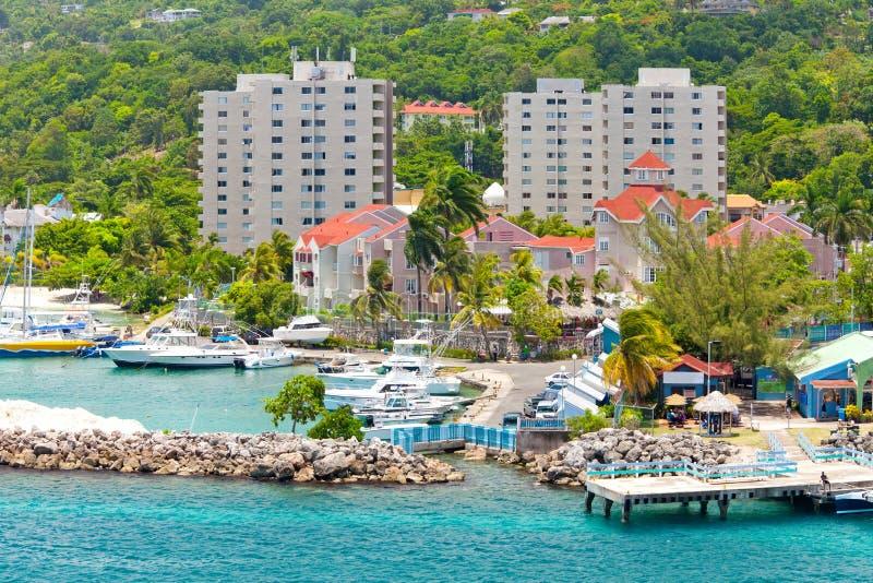 牙买加ocho rios 库存图片
