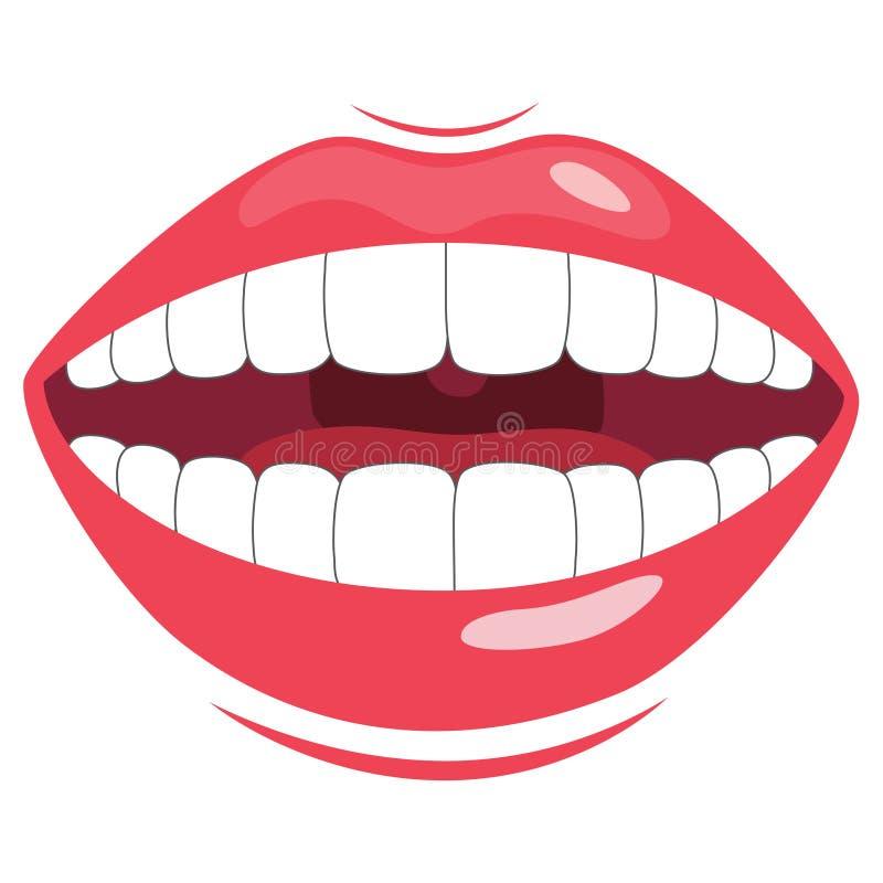 牙传染媒介例证 向量例证