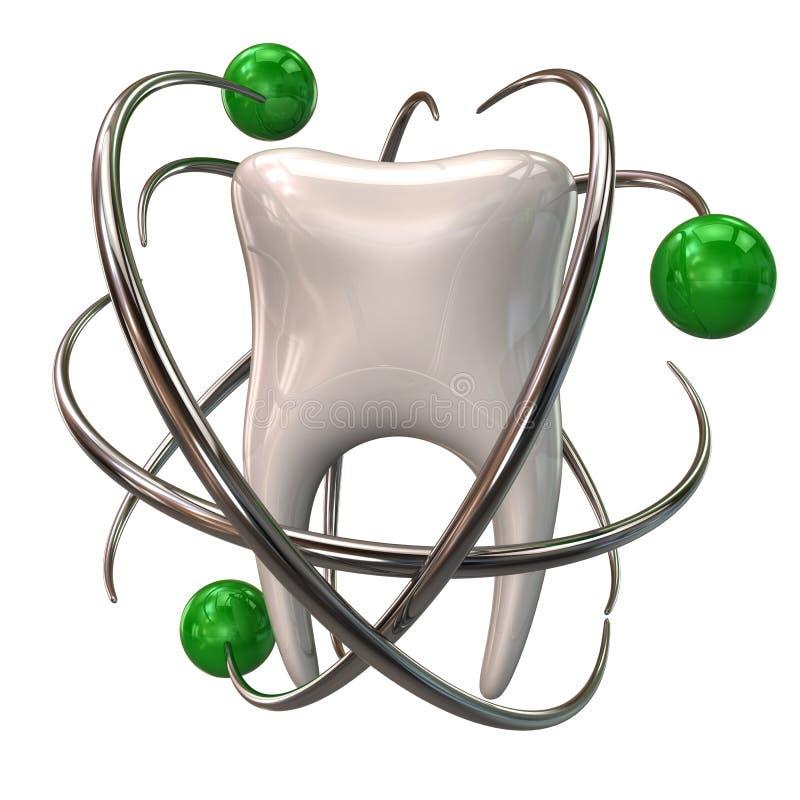 牙保护象 向量例证