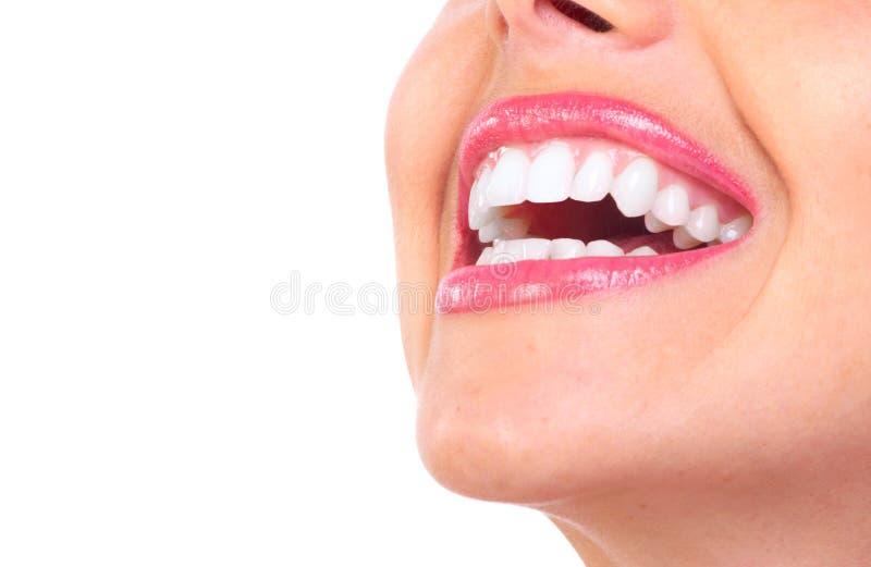 牙妇女 免版税图库摄影