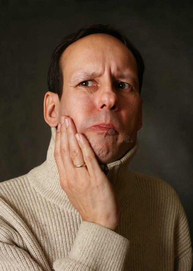 牙痛 库存图片