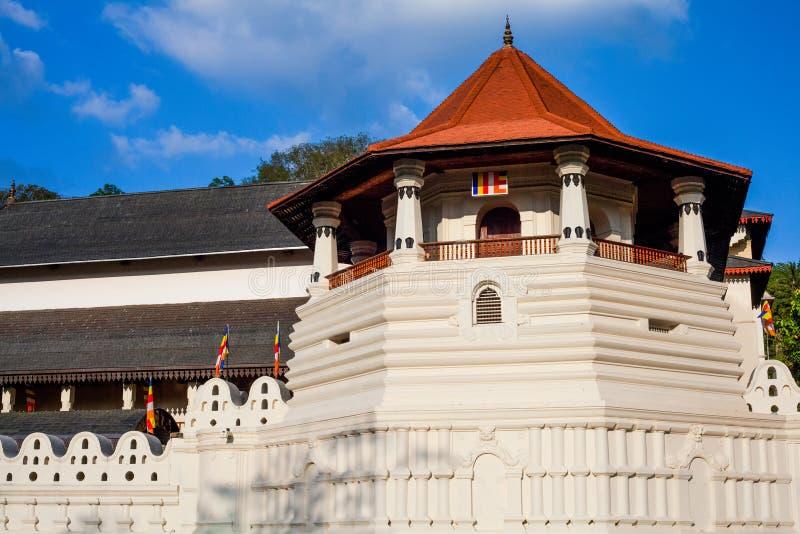 牙的寺庙,康提,斯里兰卡 库存照片