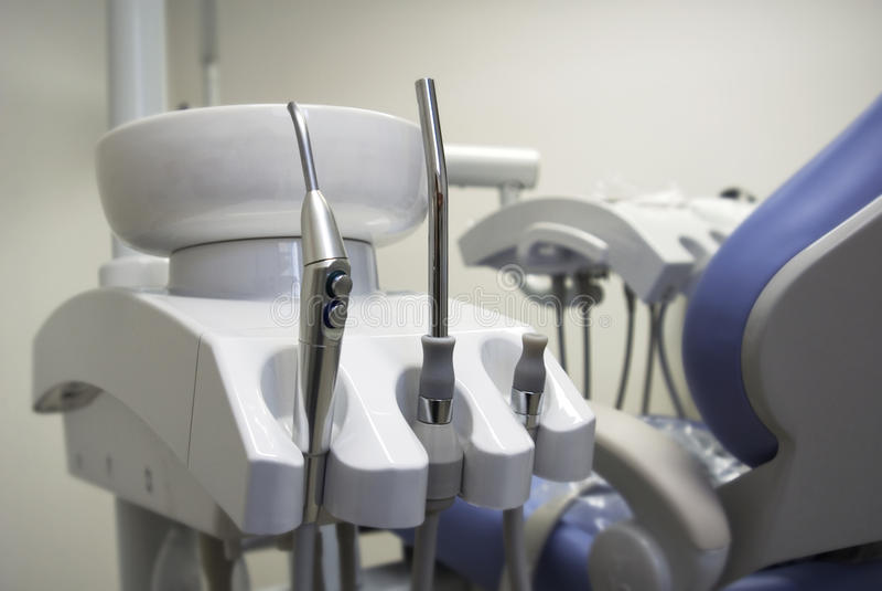 牙科仪器 库存照片