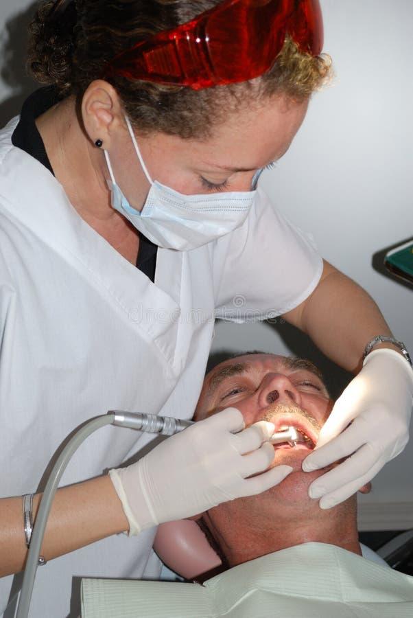 牙科医生 免版税图库摄影
