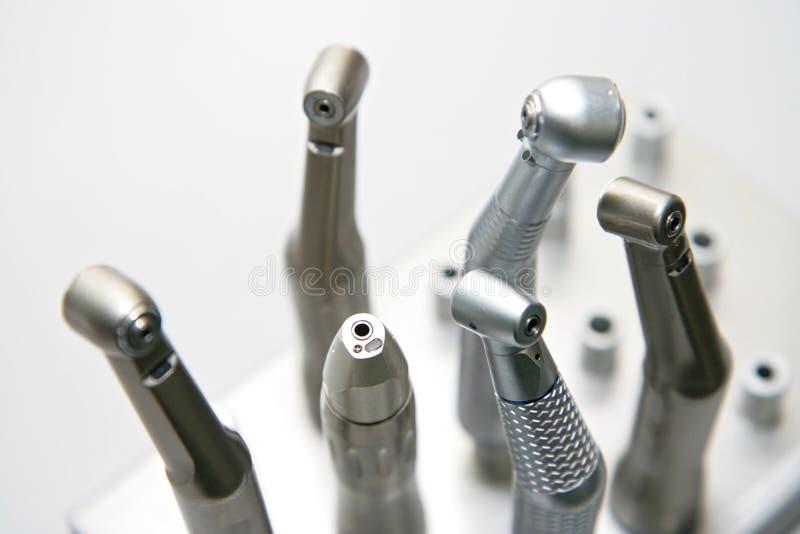 牙科医生s工具 免版税图库摄影