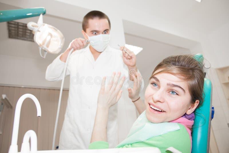 牙科医生 图库摄影