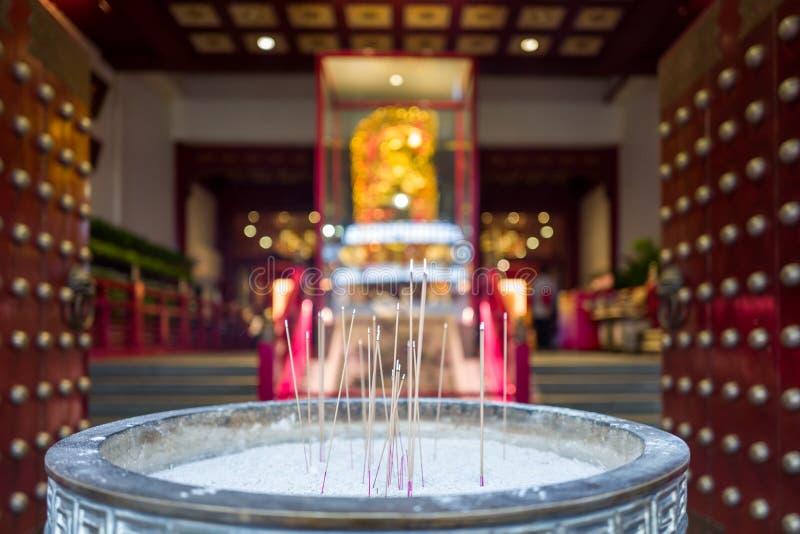 牙遗物寺庙在新加坡 库存照片