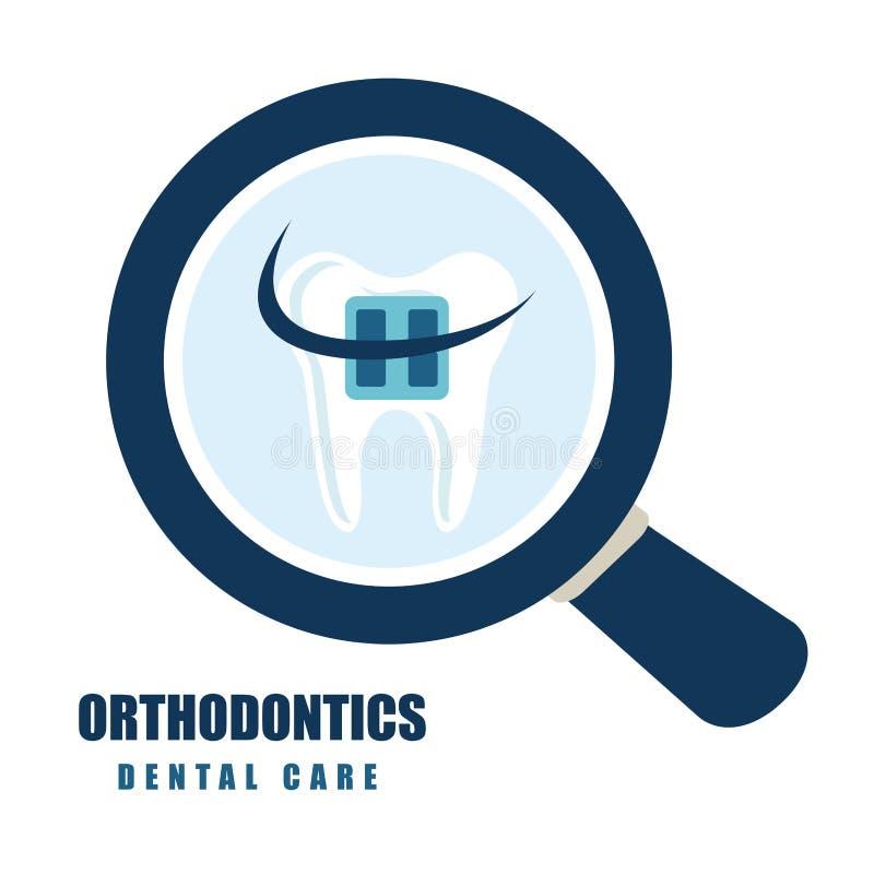 牙齿保护 库存例证