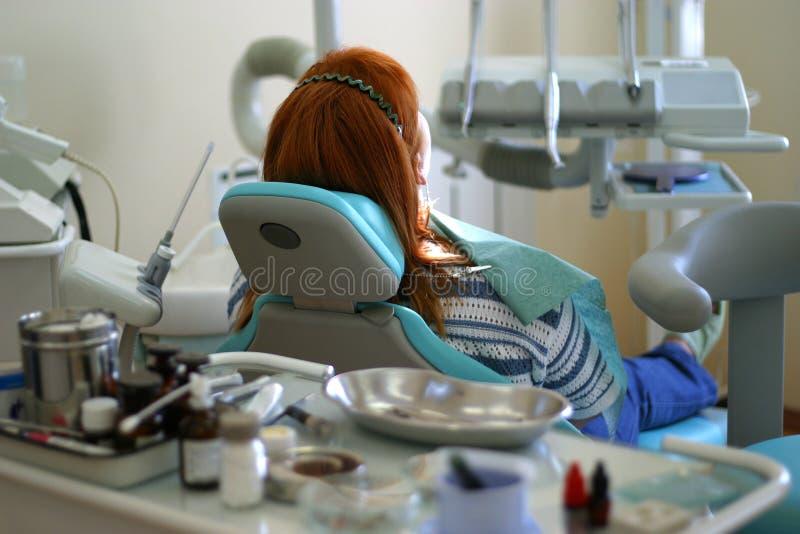牙齿办公室手术 免版税图库摄影