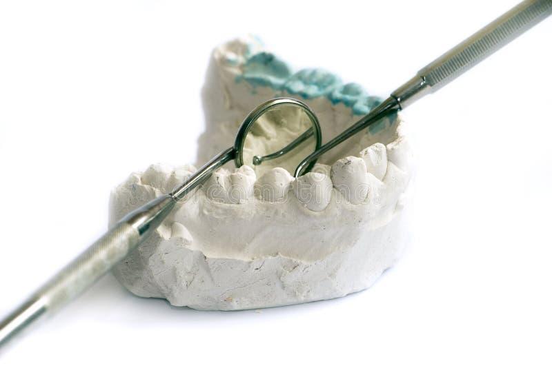 牙齿处理 库存照片