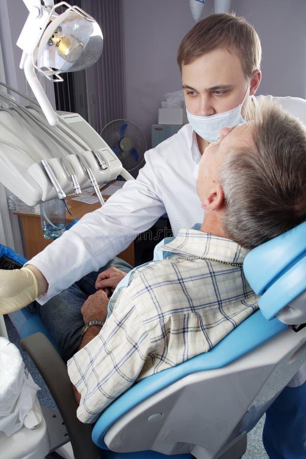 牙齿工作 库存图片