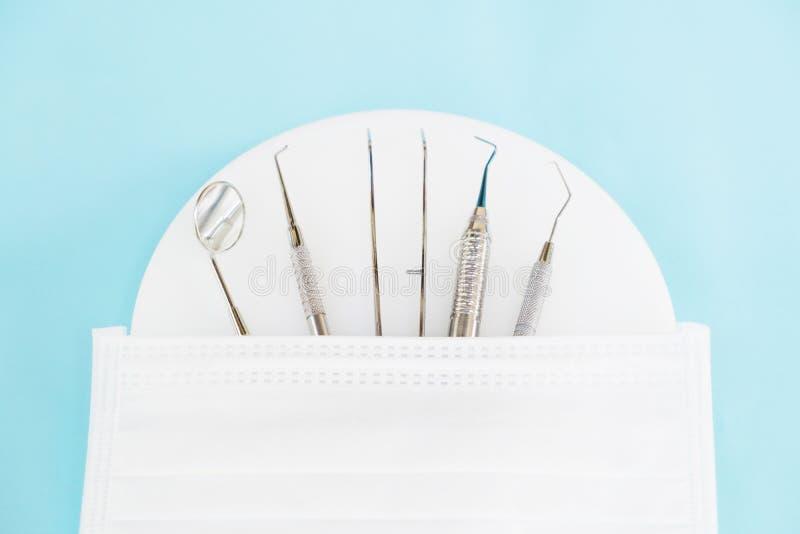牙齿工具 免版税图库摄影