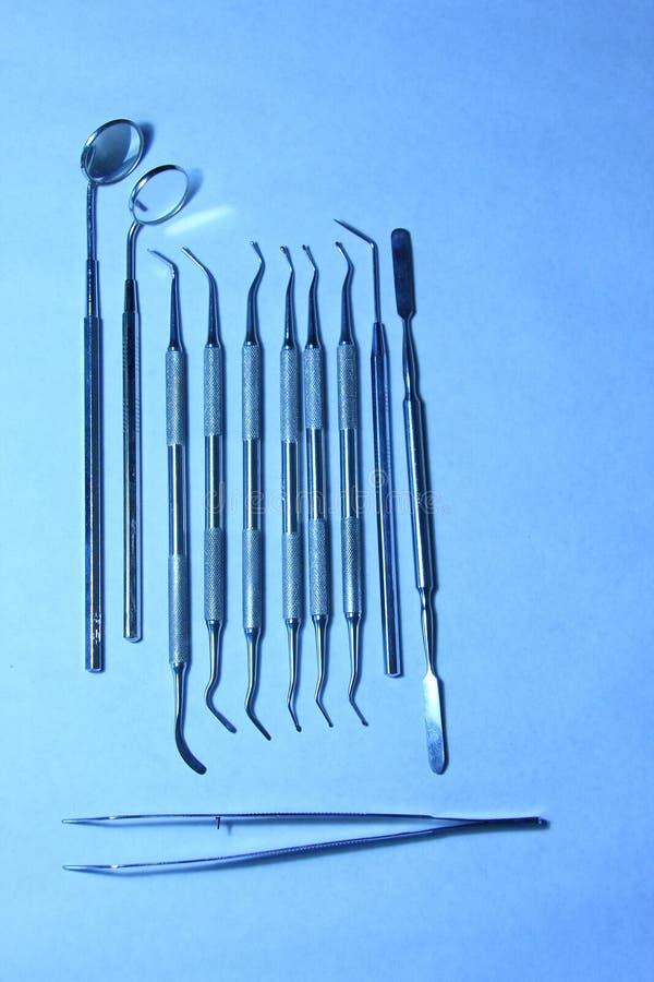 牙齿工具 库存照片