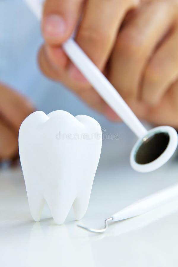 牙齿概念 免版税库存照片