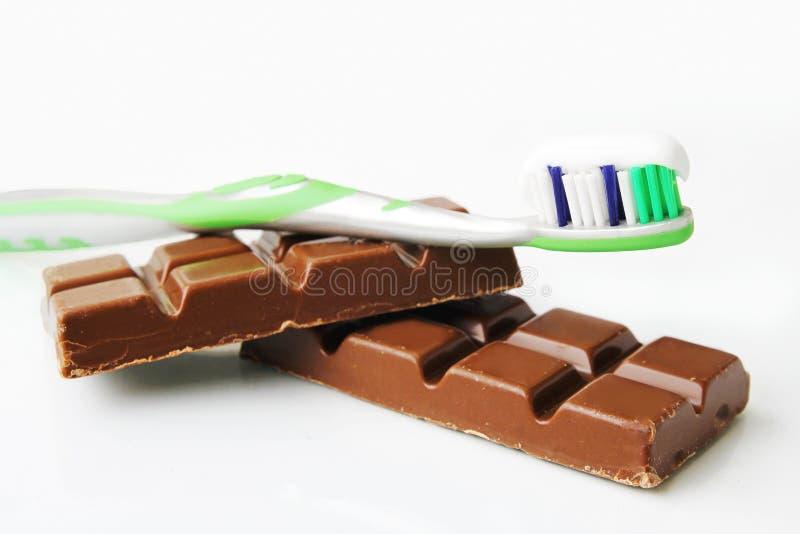 牙齿清洁 库存图片