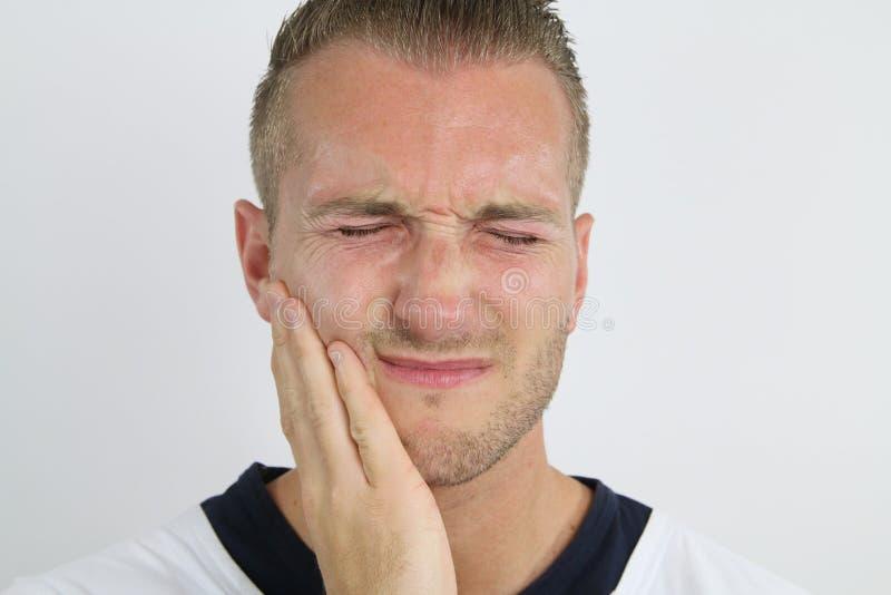 牙齿痛苦 库存图片